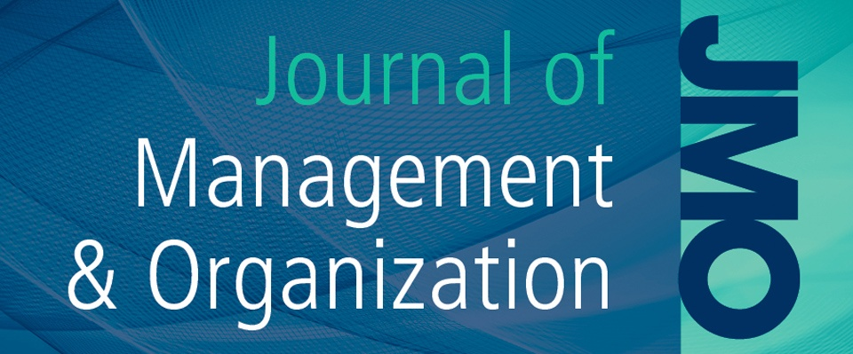 Journal of Management and Organisation